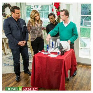Beauty Product Expert and Gift Guide Contributor Billy Lowe on Hallmark Home and Family with Gloss & Toss