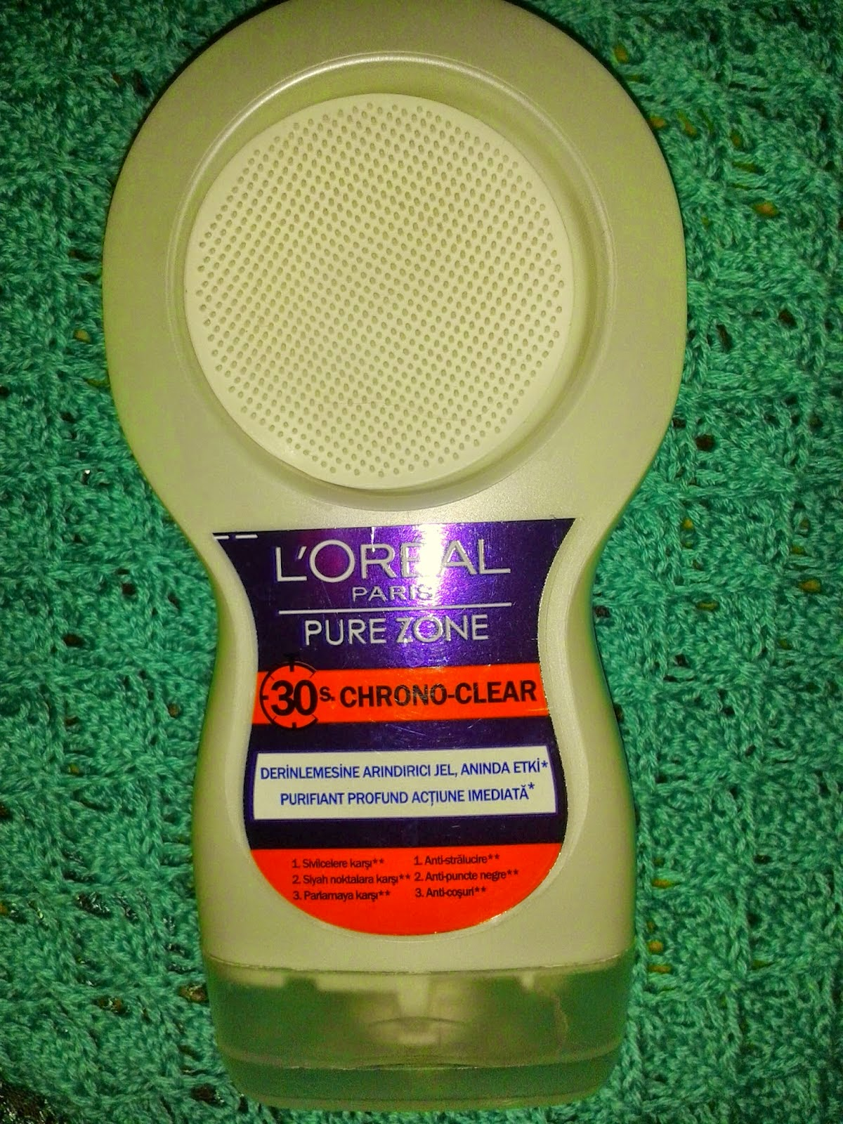 loreal pure zone 30s chrone clear