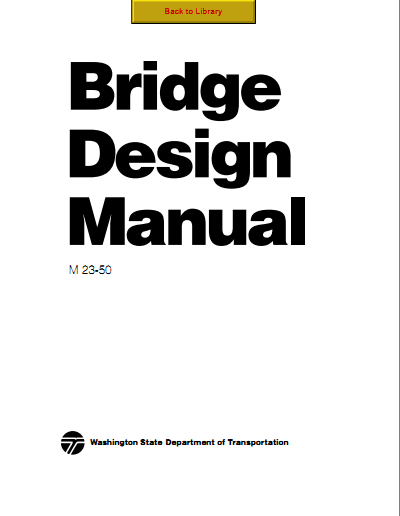 : BRIDGE DESIGN MANUAL - AASHTO