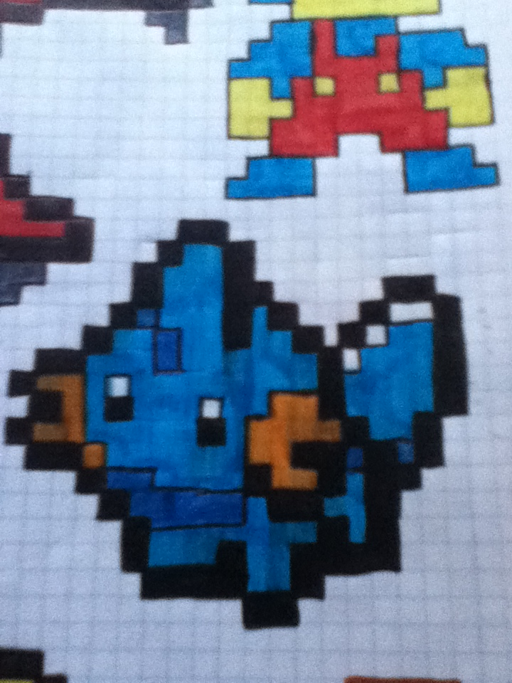 Pixel Art Spain: pokémon