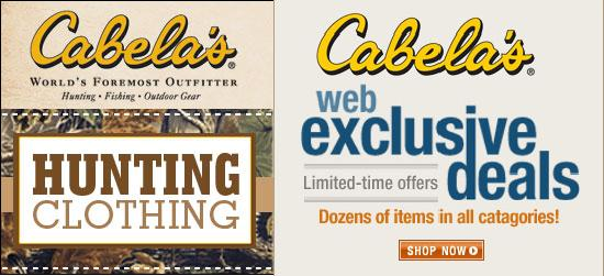 cabelas coupons in store