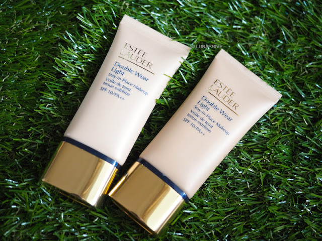 Estee Lauder Double Wear Light Foundations Intensity 2.0 and Intensity 4.0 Review Lunarrive Sephora Singapore
