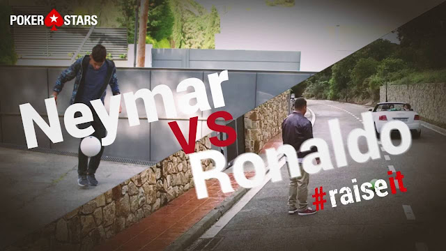 Ronaldo y Neymar se pican en lo último de PokerStars