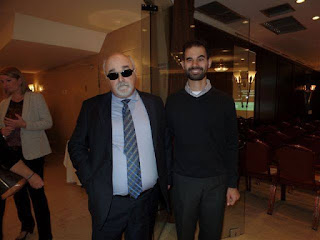 Mε τον Πρόεδρο της Εθνικής Συνομοσπονδίας ΑμεΑ και Πρόεδρο του Ευρωπαικού Φόρουμ ΑμεΑ (EDF) κ. Γιάννη Βαρδακαστάνη.