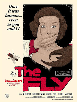 The Fly Regular Edition Screen Print by Timothy Pittides x Bottleneck Gallery