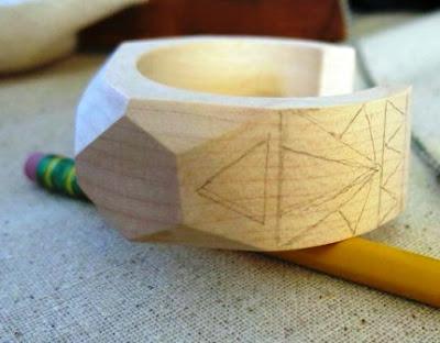 Gelang/Binggel Klasik dari Kayu Buatan Sendiri – DIY Bangle