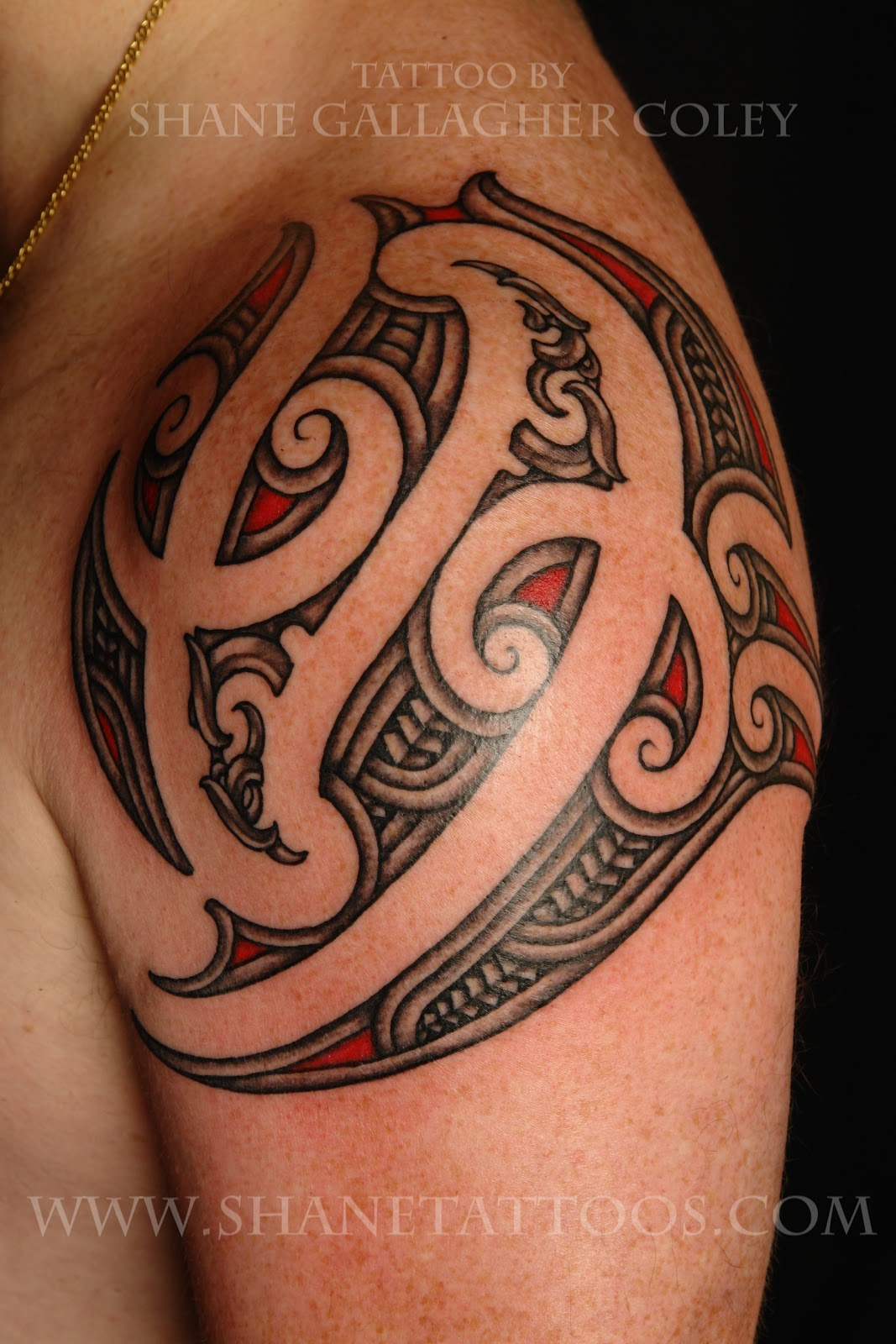 Maori Shoulder Tattoo #84777