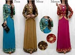 Gamis Spandex Blazer Songket SOLD OUT