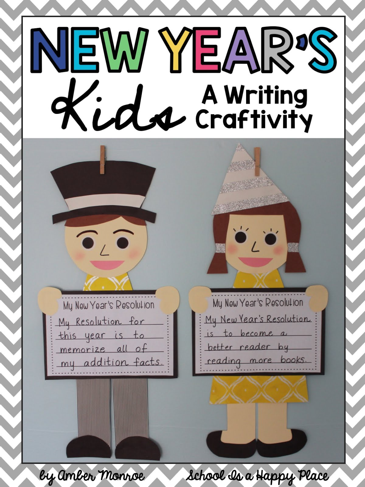 New Year Writing Craftivity
