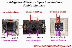schema electrique branchement cablage schema branchement. Black Bedroom Furniture Sets. Home Design Ideas