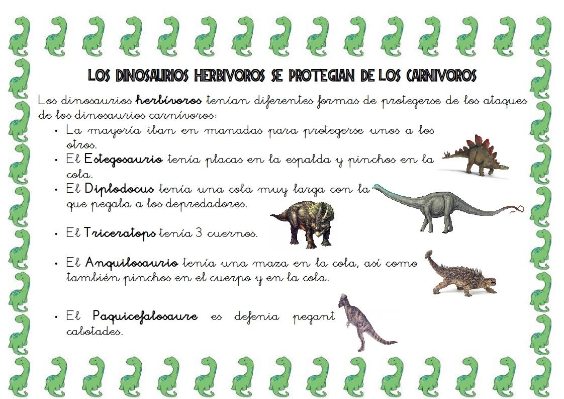 Recursos D Un Mestre D Infantil Proyecto De Los Dinosaurios Relaciones Entre Herbivoros Y Carnivores Actividades Así lo señala un informe publicado en eeuu, en el que se le quita el rango de feroces carniceros a varios dinosaurios. proyecto de los dinosaurios