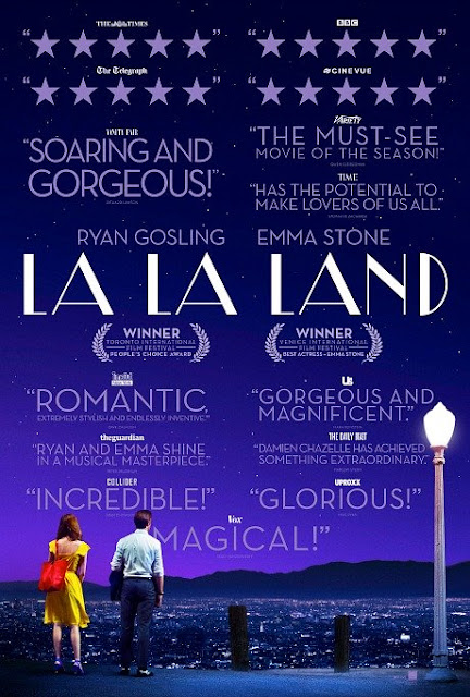 La La Land, Movie Poster, Directed by Damien Chazelle