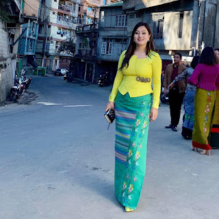 Latest Sunday Dress in Mizoram 2019
