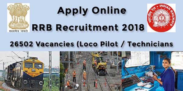 rrb recruitment indian railway jobs vacancy sarkari naukari apply online
