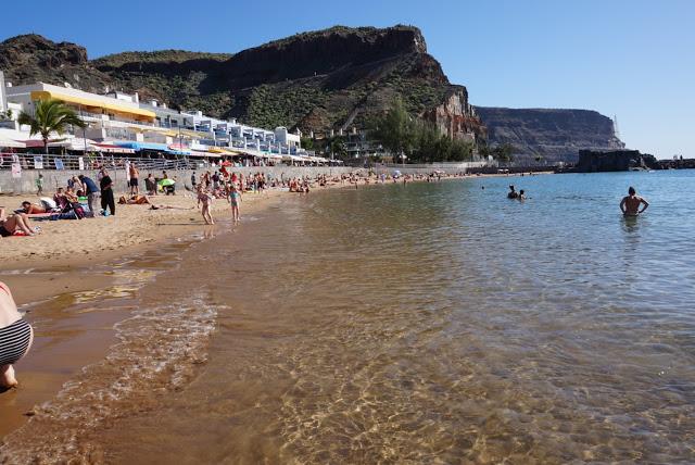 Gran Canaria, Playa Mogán beach