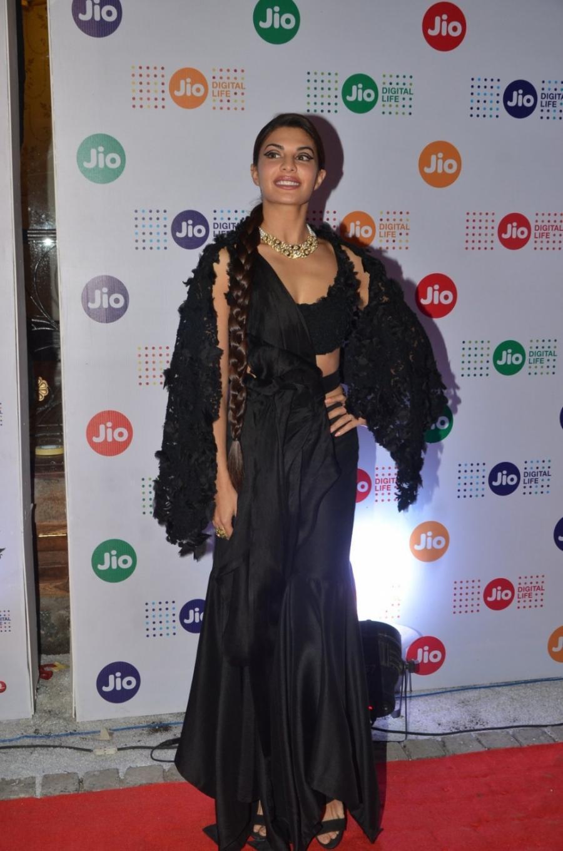 Jacqueline Fernandez Long Hair Stills At Mumbai Film Festival