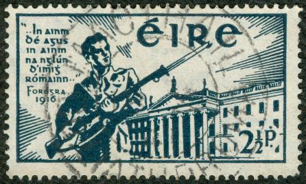 Sello conmemorativo del 25º aniversario del Alzamiento de Pascua de 1916 (Lux Occulta)