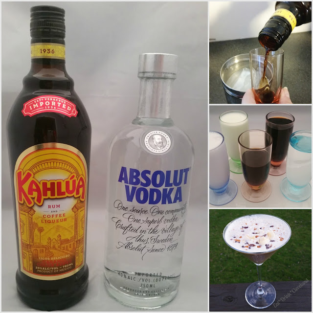 cocktails, vacation, tropical, Kahlúa