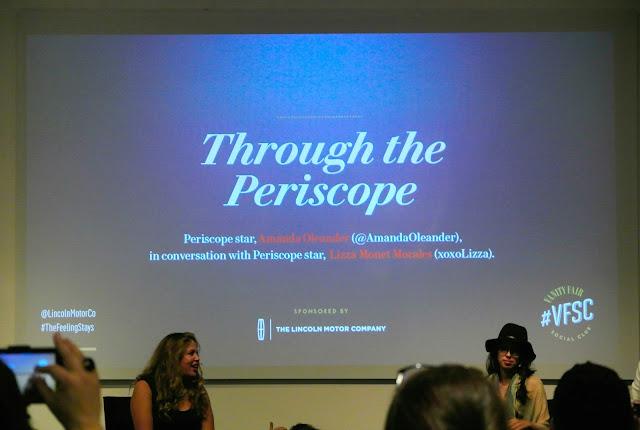 #VFSC, Periscope, Amanda Oleander, XOXOLizza