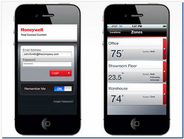 Honeywell Thermostat Iphone App