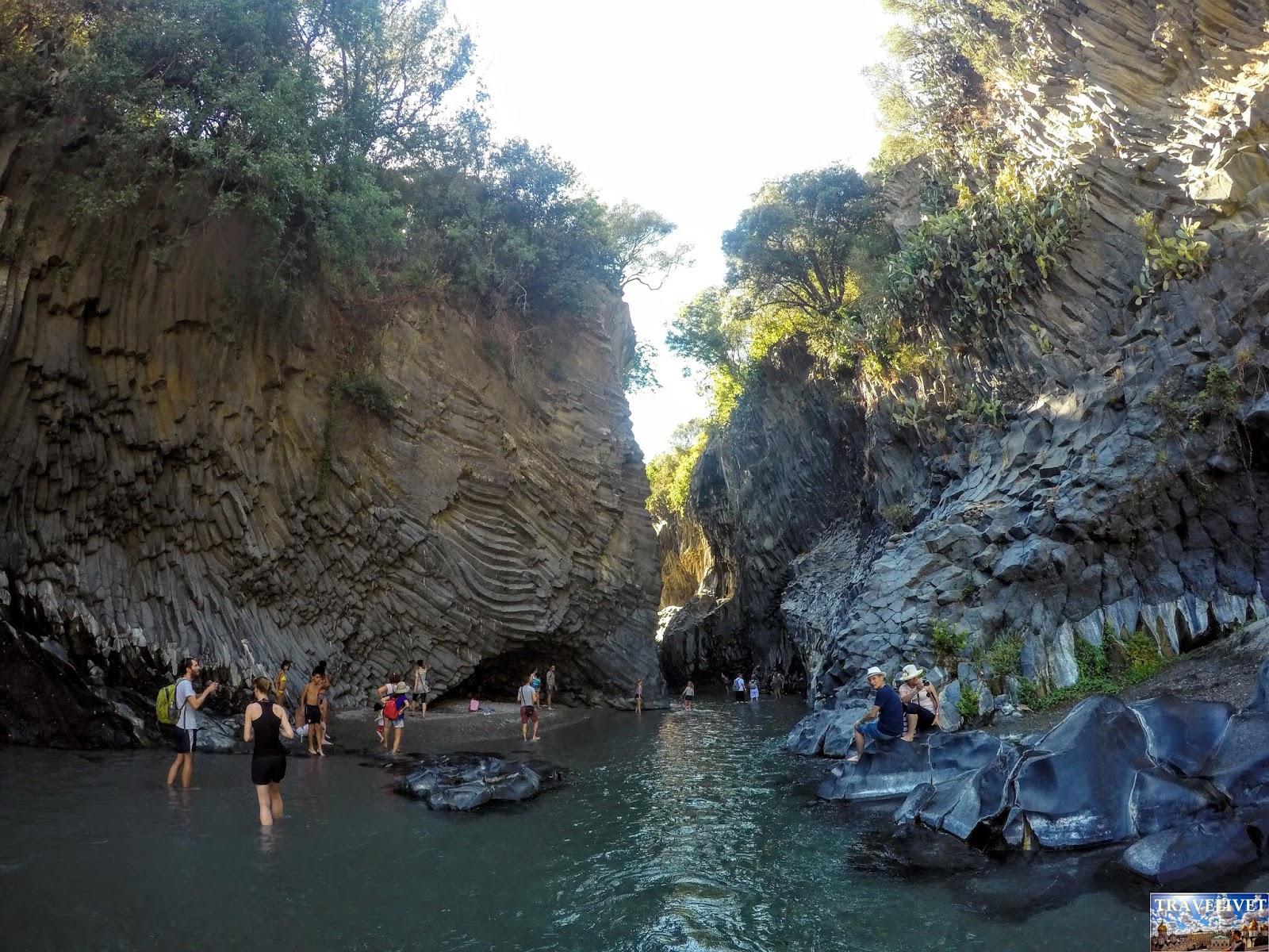 Italie Gorges d'Alcantara
