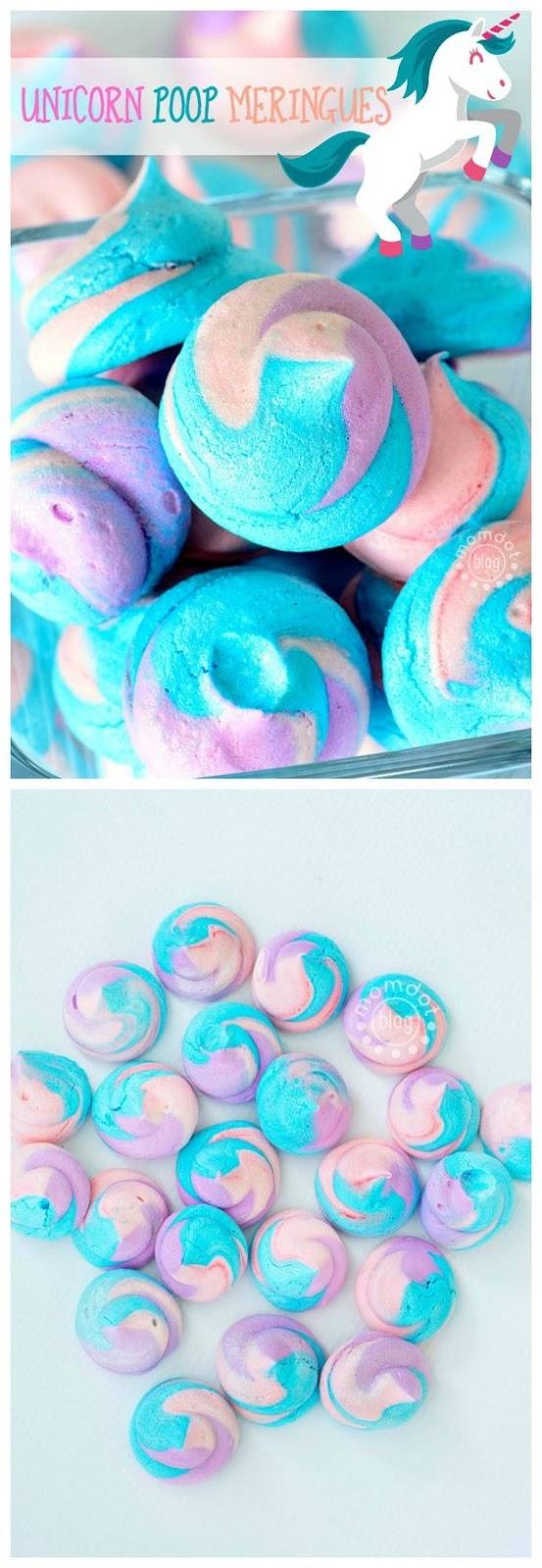UNICORN POOP MERINGUES : EASY MERINGUE COOKIE RECIPE #unicorn #unicornpoopmeringues #easymeringues #cookierecipe #cookies
