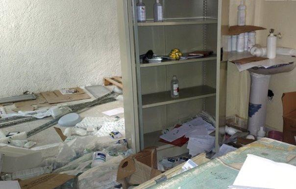 العثورعلى مشفى حديث للإرهابيين وأدوية إسرائيلية وسيارة إسعاف بريطانية بريف القنيطرة