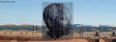 تمثال نيلسون مانديلا في جنوب أفريقيا