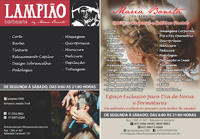 Lampião Barbearia e Maria Bonita Estética