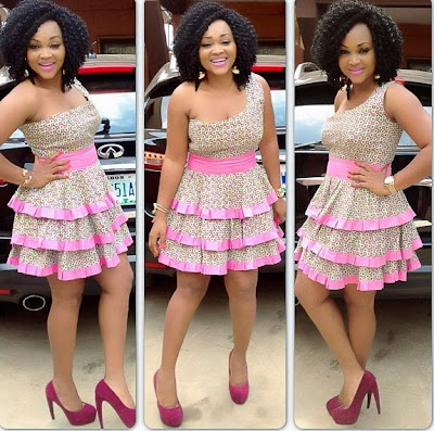 Actress, Mercy Aigbe