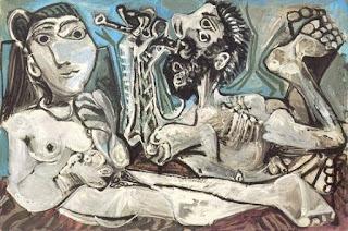 Пабло Пикассо. Серенада. 1967