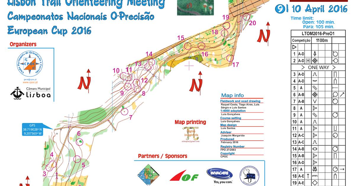 Portuguese Orienteering Blog: LTOM 2016: Maps, solutions ...