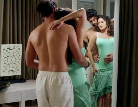 Sunny Leone One Night Stand Erotic Kisses Sex Scenes Pics