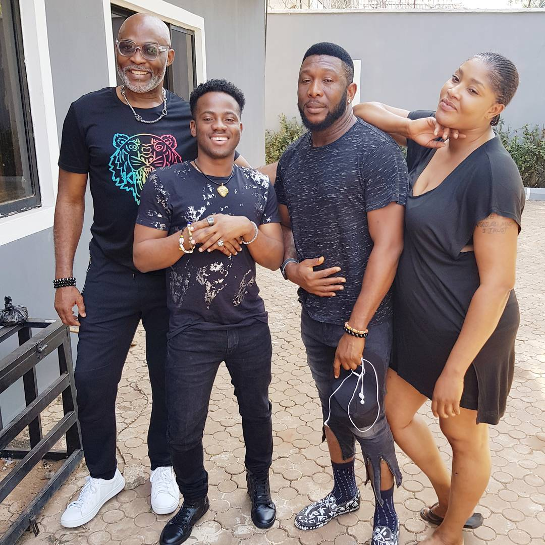 55719efef6b Korede Bello Debuts His First Movie Ever to Appear With RMD on Professor  Johnbull Movie