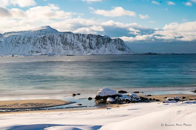 Lofoten, playa de Ramberg, por El Guisante Verde Project