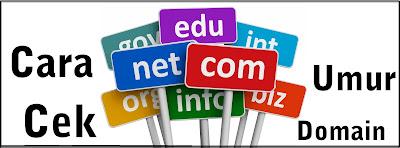 Cara Cek Umur Domain Blog Dengan Domaintools (WHOIS)