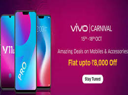 Vivo Carnival Sale: Offers on many phones including Vivo V9 Pro and V11 Pro