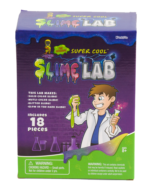 32049d9f2 You can get the Original Super Cool Slime lab for just $12.95, and it  includes 18 pieces - everything that you need to create amazing homemade  slime.