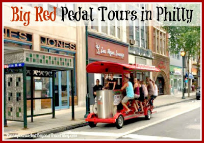 Big Red Pedal Tours in Philadelphia Pennsylvania