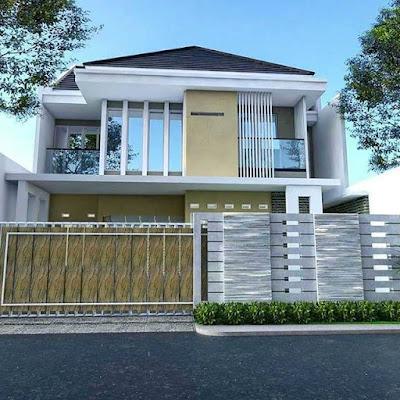 tipe rumah minimalis rumah bagian depan