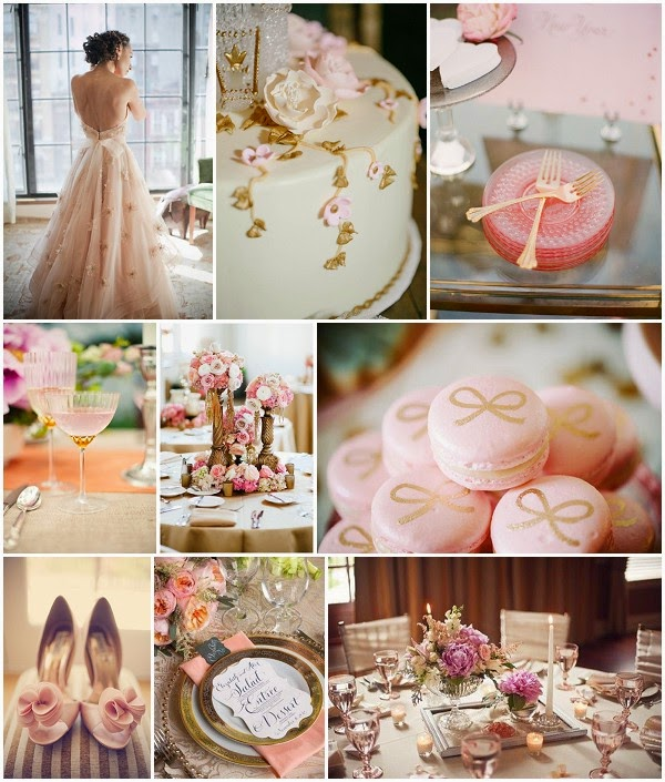 Wedding Ideas And Inspirations: The Wedding Decorator: Rose Gold Wedding Inspirations