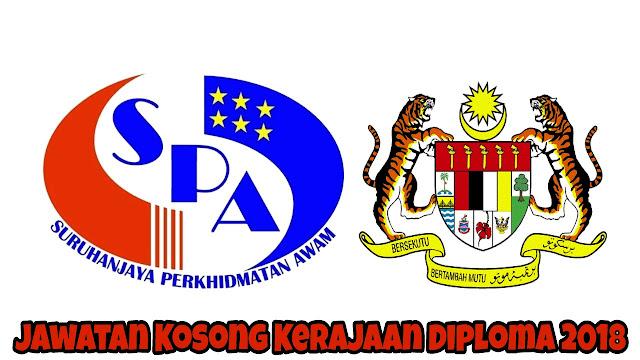 Jawatan Kosong Kerajaan Diploma 2021 SPA