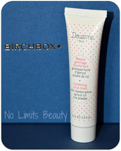 BirchBox Febrero 2016 - Mascarilla Exfoliante reconfortante de Doux me Paris
