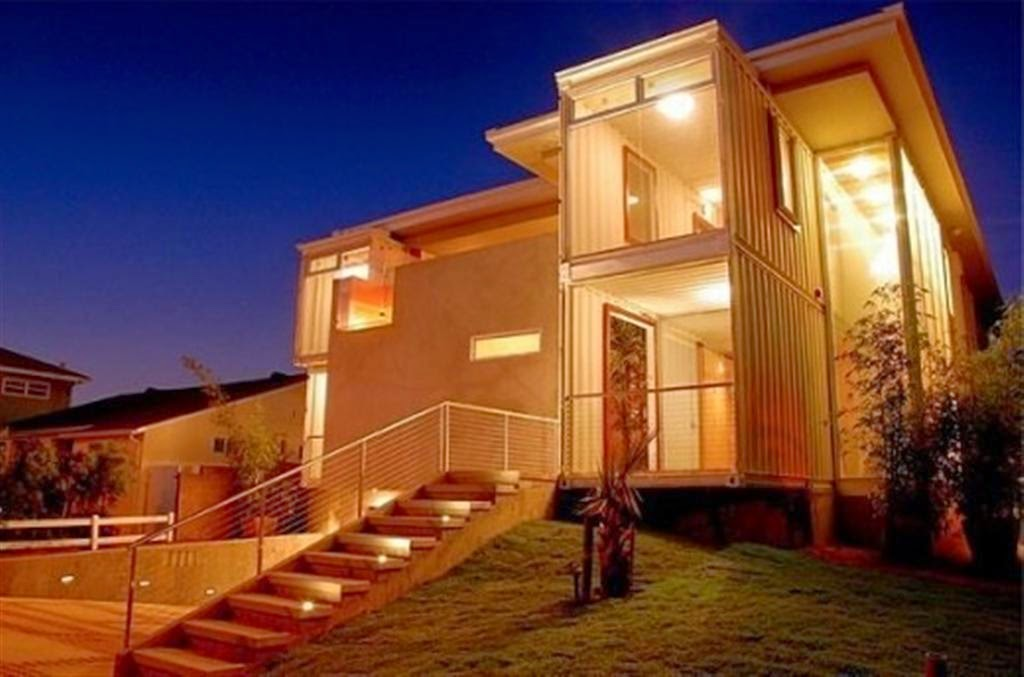 The Shipping Container Mansion