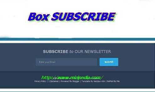Cara Mudah Membuat Box SUBSCRIBE