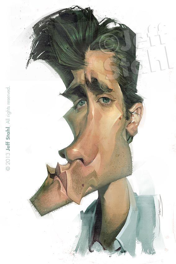 Jake Gyllenhaal por Jeff Stahl