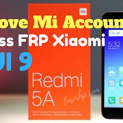 Remove MiCloud Redmi S2-YSL - TUSERHP