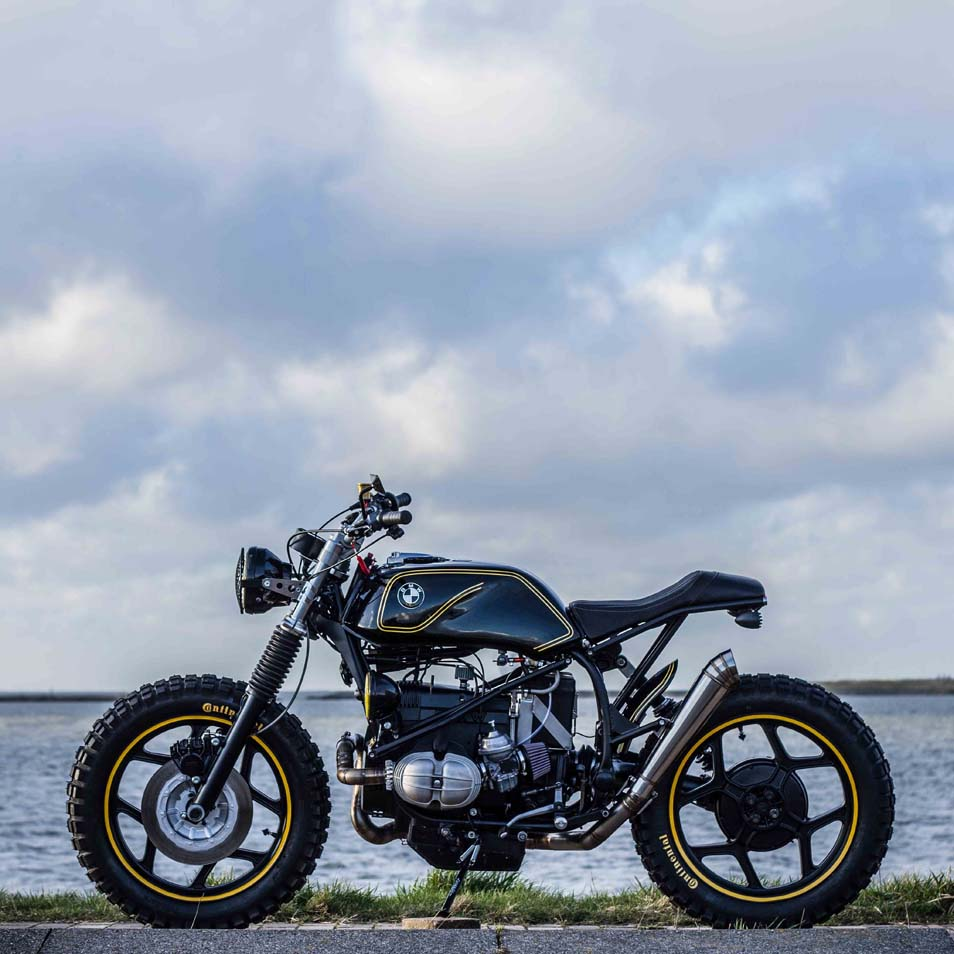 """Bien connu Ottonero Cafe Racer: """"The Riot Starter"""" R65 / IWC Motorcycles DY47"""
