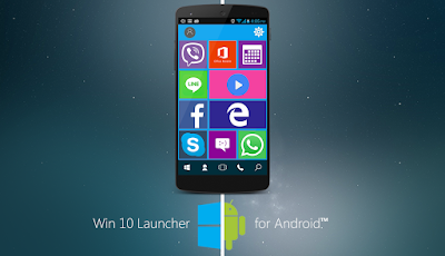 Free Download Win 10 Launcher Pro apk
