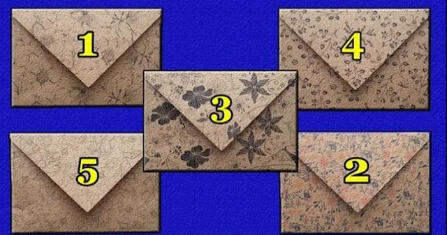 Вам письмо: выбери конверт и узнай послание судьбы!